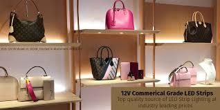 glowbackled architectural grade commercial strips 12v 3528 5050