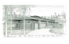 Frank Lloyd Wright Prairie Style Lost Frank Lloyd Wright Pavilion May Be Rebuilt In Canadian Resort
