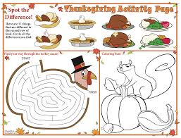 thanksgiving food printables thanksgiving printable placemats for kids thankgiving crafts