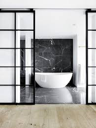white black bathroom ideas this hillside villa overlooking the northern oceans of copenhagen