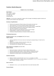 Post Resume For Jobs by Fashion Stylist Resume This Resume Example Is For Job Search In