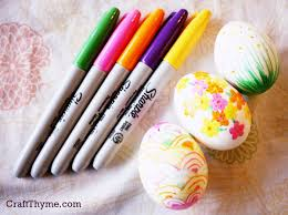 how to make easter eggs patterned easter eggs craft thyme