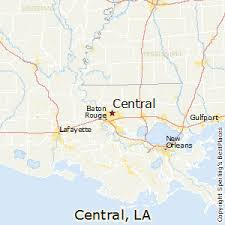 louisiana map cities best places to live in central louisiana