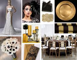 Black Gold Wedding Decorations Pictures On Black White Gold Wedding Ideas Wedding Ideas