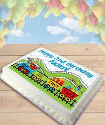 elmo choo choo train edible image round cake topper