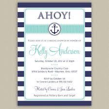 nautical bridal shower invitations nautical themed bridal shower