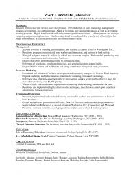 Resume Employment History Sample by Resume Format To Write Cv Sample Of Resume For Nurses Volunteer