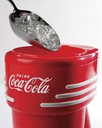 amazon com nostalgia rism900coke coca cola electric shaved ice