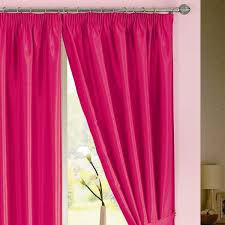 Ebay Curtains Java Faux Silk Pencil Pleat Lined Curtains Ebay Pink