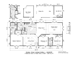 mobile home plans floor plans golden west limited series tlc manufactured homes