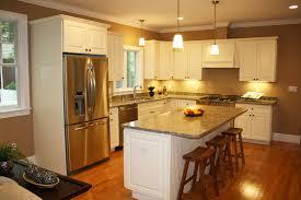 Antiqued White Kitchen Cabinets by Kitchen Room Antique White Kitchen Cabinets With Granite