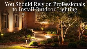 Install Landscape Lighting - blog outdoor lighting perspectives