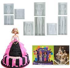 best sale fondant 3d people shaped cake figure mold family set