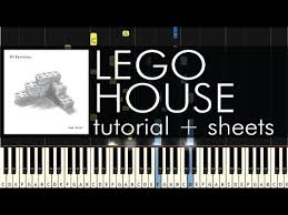 piano tutorial lego house ed sheeran lego house piano tutorial sheets youtube