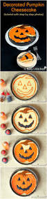 decorated pumpkin cheesecake roxy u0027s kitchen
