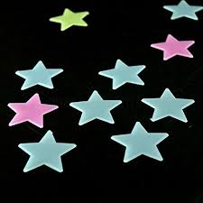 Glow In The Dark Star Ceiling by New Home Wall Glow Dark Stars Heart Stickers 100x Home Wall