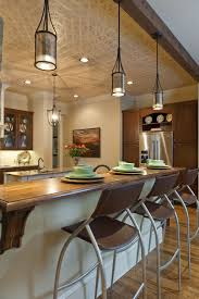 mini pendant lights kitchen island mini kitchen bar tiled basement has beautiful color contrast with