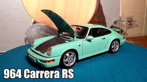 porsche 964 rs 1 18 porsche 964 carrera rs 1992 autoart youtube