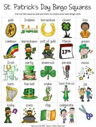 s day bingo st s day free by jason s online classroom tpt