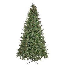 shop sylvania 7 5 ft pine pre lit artificial tree with