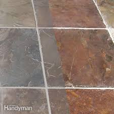 How To Clean Kitchen Tile Grout - grouting the family handyman