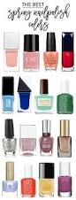the best spring nail polishes beauty bets