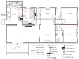 create floor plan for house floor plan building plumbing piping plans house water heating plan
