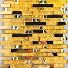 Metallic Tile Backsplash by 20 Best Metal Glass Tiles Images On Pinterest Glass Tiles