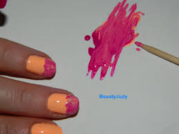 quick and easy summer nail art with neons beautyjudy