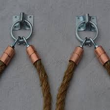 Rope Tiebacks For Curtains Make Your Own Rope Curtain Tiebacks With Hardware From Builders