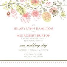 wedding invitations hamilton floral border wedding invitation wedding invitations
