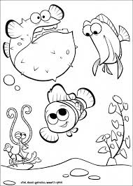 finding nemo colouring pages funycoloring