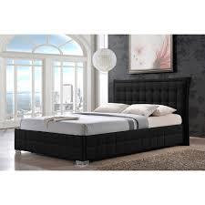 black bed frames queen simple platform bed frame for upholstered