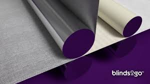 Thermal Lined Roman Blinds Thermal Roller Blinds By Blinds 2go Youtube
