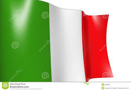 Flag Italy Waving Flag Of Italy Italia Stock Illustration Illustration