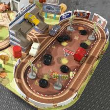 matchbox car play table disney pixar cars 3 thomasville track set table