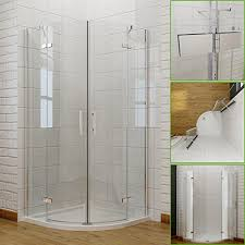 quadrant shower enclosure pivot hinge 6mm glass shower cubicle
