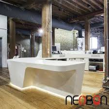 Hairdressing Reception Desk China Manufacturer White Salon Reception Desk Nail Salon