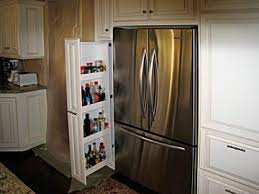 Kitchen Cabinet Refrigerator Custom Kitchen Cabinets From Darryn U0027s Custom Cabinets Serving