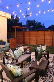 Lighting For Patios Outdoor Style How To Hang Commercial Grade String Lights Patio