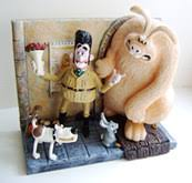 Wallace And Gromit Hutch Cracking Collectibles Cards Inc Were Rabbit Products