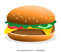 cuisine burger burger food culinary dish cuisine image เวกเตอร สต อก 414025909