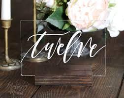 wedding table numbers wedding table numbers etsy