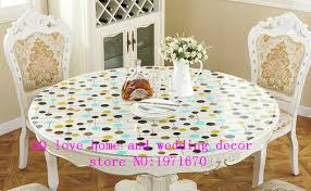 thick plastic table cover 1 0mm thickness custom wallpaper waterproof soft glass round