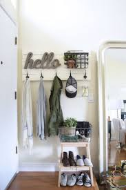 entryway ideas for small spaces decorations nice coat rack in white tone with vintage design fits