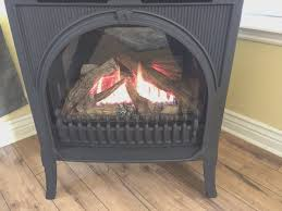 fireplace awesome free standing gas fireplace vented interior