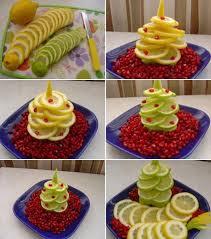 edible fruit centerpieces edible christmas trees eye catching and delicious treats