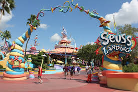 Map Of Universal Studios Orlando by Hd Tour Of Seuss Landing At Islands Of Adventure Universal