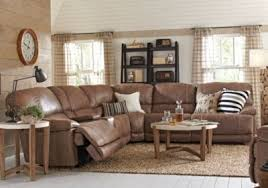 Rooms To Go Living Room Furniture by Stetson Ridge Brown 6 Pc Sectional Sectionals Brown