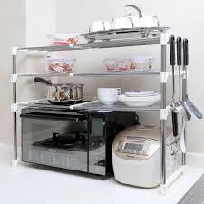 étagère à poser cuisine meuble haut micro onde impressionnant rangement etagere cuisine